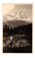 """12813 """" CERVINIA-SULLO SFONDO IL CERVINO-AGOSTO 1938 """" VERA FOTO - Plaatsen"""