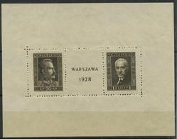 Pologne (1928) BF 1 (charniere) - Blokken & Velletjes