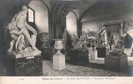 Art Sculpture Musée Du Louvre La Salle De Puget Sculpture Moderne Cpa Statue - Sculptures