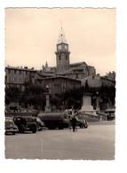 """12823 """" DIGNE (FRANCIA)-AGOSTO 1957-AUTO E CISTERNA DELLA SHELL DELL'EPOCA """" VERA FOTO - Plaatsen"""