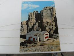 Cartolina  RIFUGIO FRANCO CAVAZZA Colfosco In Badia Nuova - Alberghi & Ristoranti