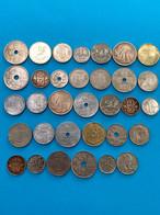 33 Pièces De Belgique / Collection - Lots & Kiloware - Coins