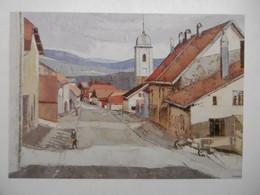 """NODS """"Paysage Comtois"""" Peinture De Pierre DEMEUSY - CPM 25 DOUBS - Altri Comuni"""