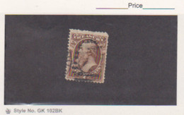 1873 US Scott # O76 Used Treasury Department Official Stamp Cat.$35.00 - Officials