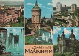 Mannheim - U.a. Jesuitenkirche - 1967 - Mannheim