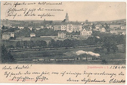 DIPPOLDISWALDE - VUE GENERALE (TRAIN PETIT PLAN) - Dippoldiswalde