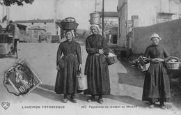 L'Aveyron Pittoresque - Paysannes Se Rendant Au Marché - Zonder Classificatie