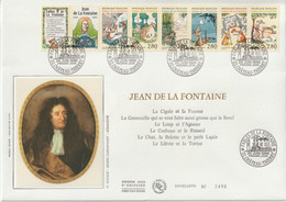 France FDC Grand Format 1995 Jean De La Fontaine BC2964 - 1990-1999