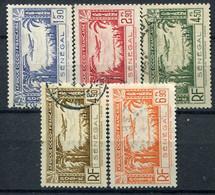 Sénégal          PA  13/17  Oblitérés - Posta Aerea
