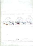 Lettre Poste Privée RPV Service Vignette Instrument Ecriture Plume Sylo Etc Souris Cachet - Marcophilie - EMA (Empreintes Machines)