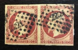 France Napoléon YT 17B Oblitération Losange Pc - 1849-1876: Classic Period