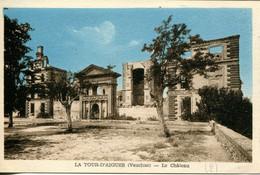 CPA -  LA TOUR-D'AIGUES - LE CHATEAU (1) - La Tour D'Aigues