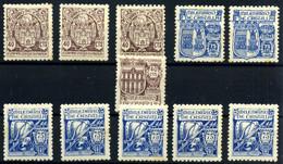España Nº 975/6, 978/9. Año 1944 - 1931-50 Neufs