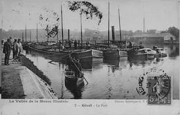 """GIVET --  Le PORT - Coll. """"Vallée De La Meuse Illustrée """"- ( édition Artistique) - Givet"""