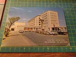 159107 THE SHERATON TEL AVIV HOTEL  ISRAELE AUTO D' EPOCA OLD CARS - Israele