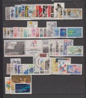 1988-FRANCE-ANNEE COMPLETE 1988**.57 TIMBRES - 1980-1989