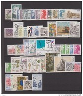1987-FRANCE-ANNEE COMPLETE 1987**.48 TIMBRES - 1980-1989