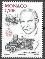 MONACO Centenaire De La Ford T N° Yvert 2621 NSC ** - Unused Stamps