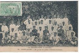 CAMP JACOB - N° 88 - UN GROUPE DE SOLDATS (Infanterie Coloniale) - Non Classificati