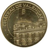 36-1992 - JETON TOURISTIQUE MDP - Château De Valençay - La Tour - 2015.5 - 2015
