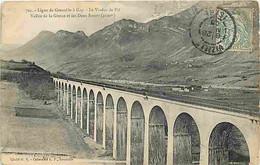 38 - Isère - Ligne De Grenoble à Gap - Le Viaduc De Vit - Vallée De La Gresse Et Les Deux-Soeurs - Oblitération Ronde De - Other Municipalities