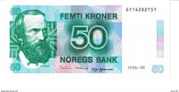 Norway P.42f 50 Kroner 1995 Xf - Norway