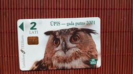Owl Phonecard Used Rare - Aquile & Rapaci Diurni