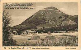 63 - Puy De Dome - Le Puy De Dome à La Saison Des Moissons - Carte Neuve - CPA - Voir Scans Recto-Verso - Other Municipalities