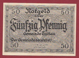 Allemagne 1 Notgeld  De 50 Pf Stadt  Tritlau   ( RARE) Dans L 'état   Lot N °282 - Colecciones