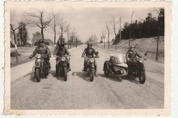 Mannen Op Moto En Side-car Beverloo - Foto 6 X 9 Cm - Ciclismo