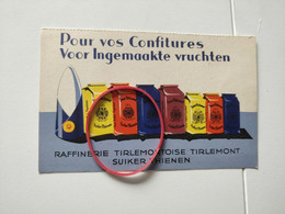 Suiker Tienen Thienen Tentoonstelling Brussel Raffinaderij - Mercanti