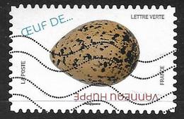 AA - 1850 Œuf De Vanneau Huppé - Œuf D'oiseaux (2020) Oblitéré - Adhésifs (autocollants)