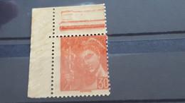 LOT550203 TIMBRE DE FRANCE NEUF** LUXE VARIETE  RECTO VERSO - Collections
