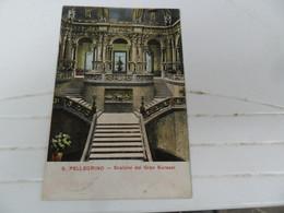 Cartolina  POSTALE 1937? S.PELLEGRINO  SCALONE DEL GRAN KURSAAL - Alberghi & Ristoranti