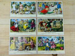 Liebig Chromo - Jeux D'enfants D'autrefois - 1961 - Liebig