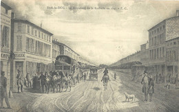 Bar Le Duc   Boulevard De La Rochelle En 1841 - Bar Le Duc