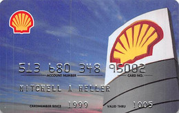 Shell Preferred Credit Card Exp 10/05 - Credit Cards (Exp. Date Min. 10 Years)