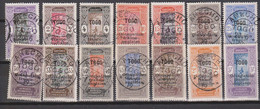 Togo N°(yt) 84+85+86+88+89+90+91+92+93+94+95+96+99+100   Oblitérés - Oblitérés