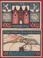 Allemagne 1 Notgeld  De 50 Pf  Stadt   Goch  ( RARE) Dans L 'état   Lot N °314 - Colecciones