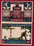 Allemagne 1 Notgeld  De 75 Pf  Stadt   Goch  ( RARE) Dans L 'état   Lot N °316 - Colecciones