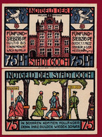 Allemagne 1 Notgeld  De 75 Pf  Stadt   Goch  ( RARE) Dans L 'état   Lot N °318 - Collections