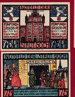 Allemagne 1 Notgeld  De 75 Pf  Stadt   Goch  ( RARE) Dans L 'état   Lot N °319 - Collections