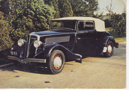 Berliet Type VIRP 11 Cabriolet  (1936)  -   Carte Postale Modern - Voitures De Tourisme