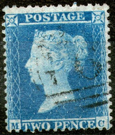 Great Britan,1869,Queen Victoria 2 Pence,perf:14 WMK Small Crown,used,as Scan - Used Stamps