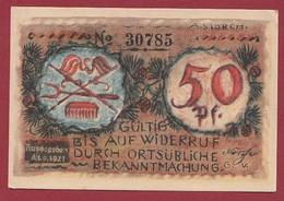 Allemagne 1 Notgeld  De 50 Pf  Stadt   Volkstedt  ( RARE) Dans L 'état   Lot N °323 - Collections
