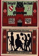 Allemagne 1 Notgeld  De 50 Pf  Stadt  Glauchau  ( RARE) Dans L 'état   Lot N °331 - Collections