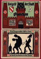 Allemagne 1 Notgeld  De 50 Pf  Stadt  Glauchau  ( RARE) Dans L 'état   Lot N °333 - Collections