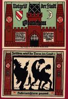 Allemagne 1 Notgeld  De 50 Pf  Stadt  Glauchau  ( RARE) Dans L 'état   Lot N °334 - Collections