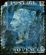 Great Britan,1869,Queen Victoria 2 Pence,plate:14,perf:14 WMK Large Crown,used,as Scan - Used Stamps