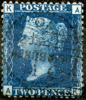 Great Britan,1869,Queen Victoria 2 Pence,plate:13,perf:14 WMK Large Crown,used,as Scan - Used Stamps